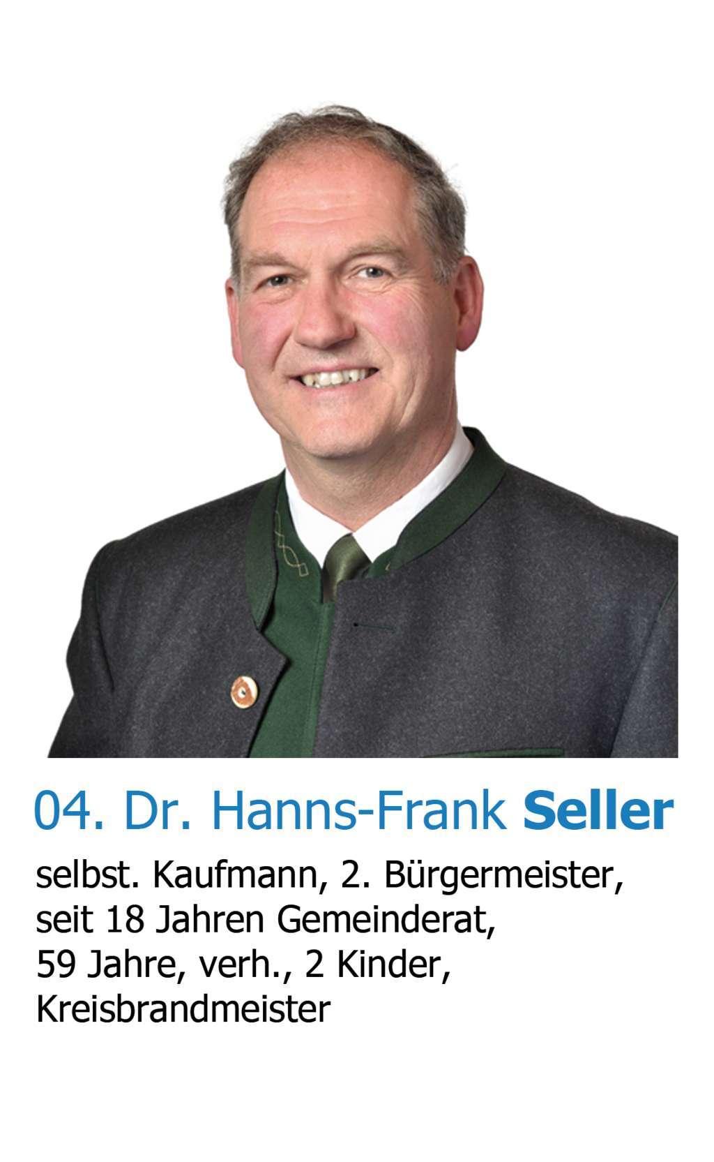 Dr. Hanns Frank Seller