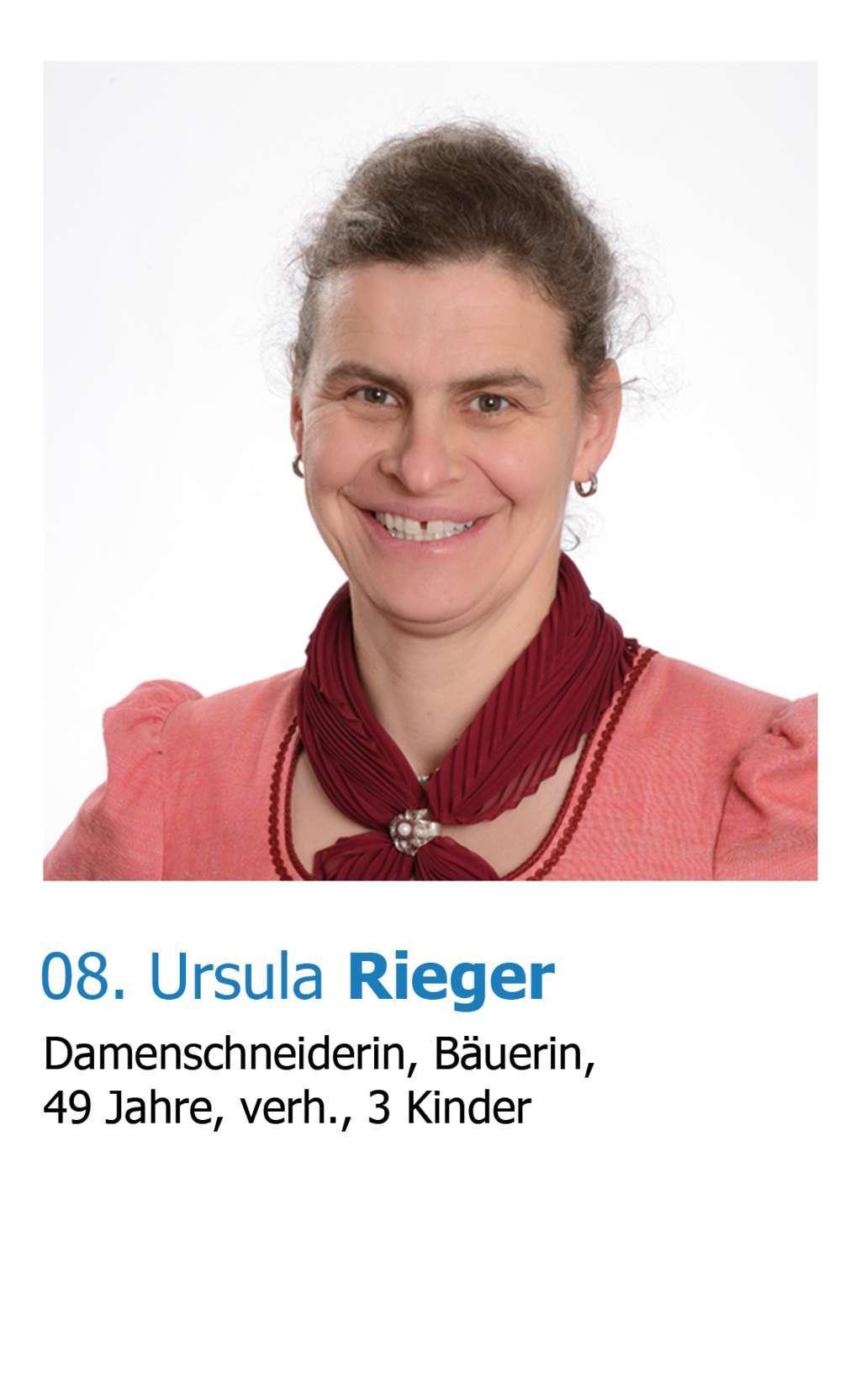 Ursula Rieger